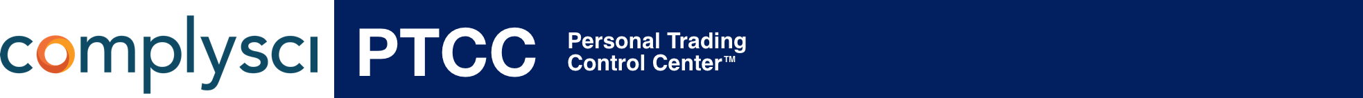 Personal Trading Control Center by Compliance Science